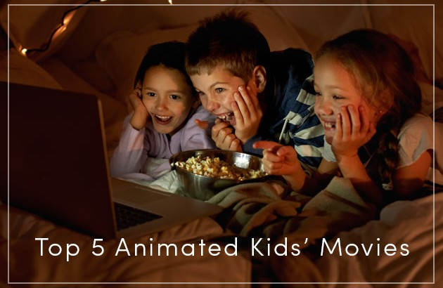 Family Move Night: Top 5 Animated Movies
